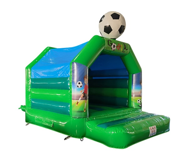Hüpfburg 4x3 m - Fußball