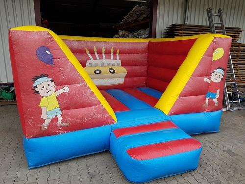 Hüpfburg 3x4 m - Kindergeburtstag - gebraucht