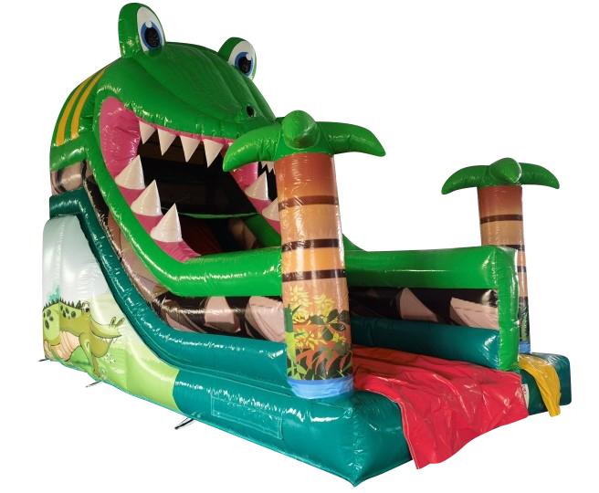 Rutsche 6,4x3,3 m - Krokodil