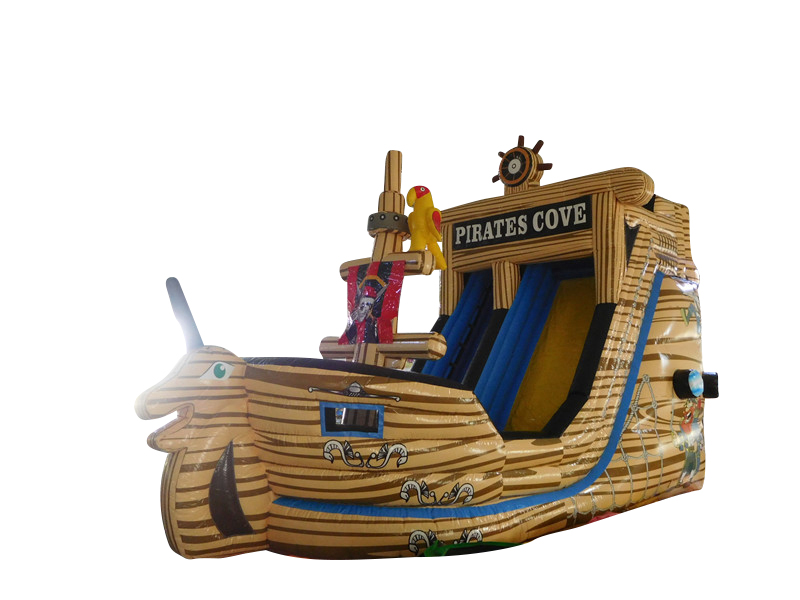 Piratenschiff - Riesenrutsche - 7x4x5,2 m