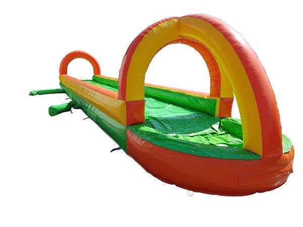 Bauchschiebebahn - Wasserrutsche - 10x2,5 m