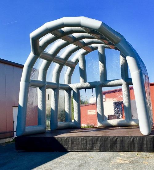 Bühnenüberdachung aufblasbar 6x5x5,4 m