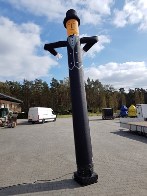 Skydancer-Aufsatz Modell Bräutigam, 5,5 m hoch