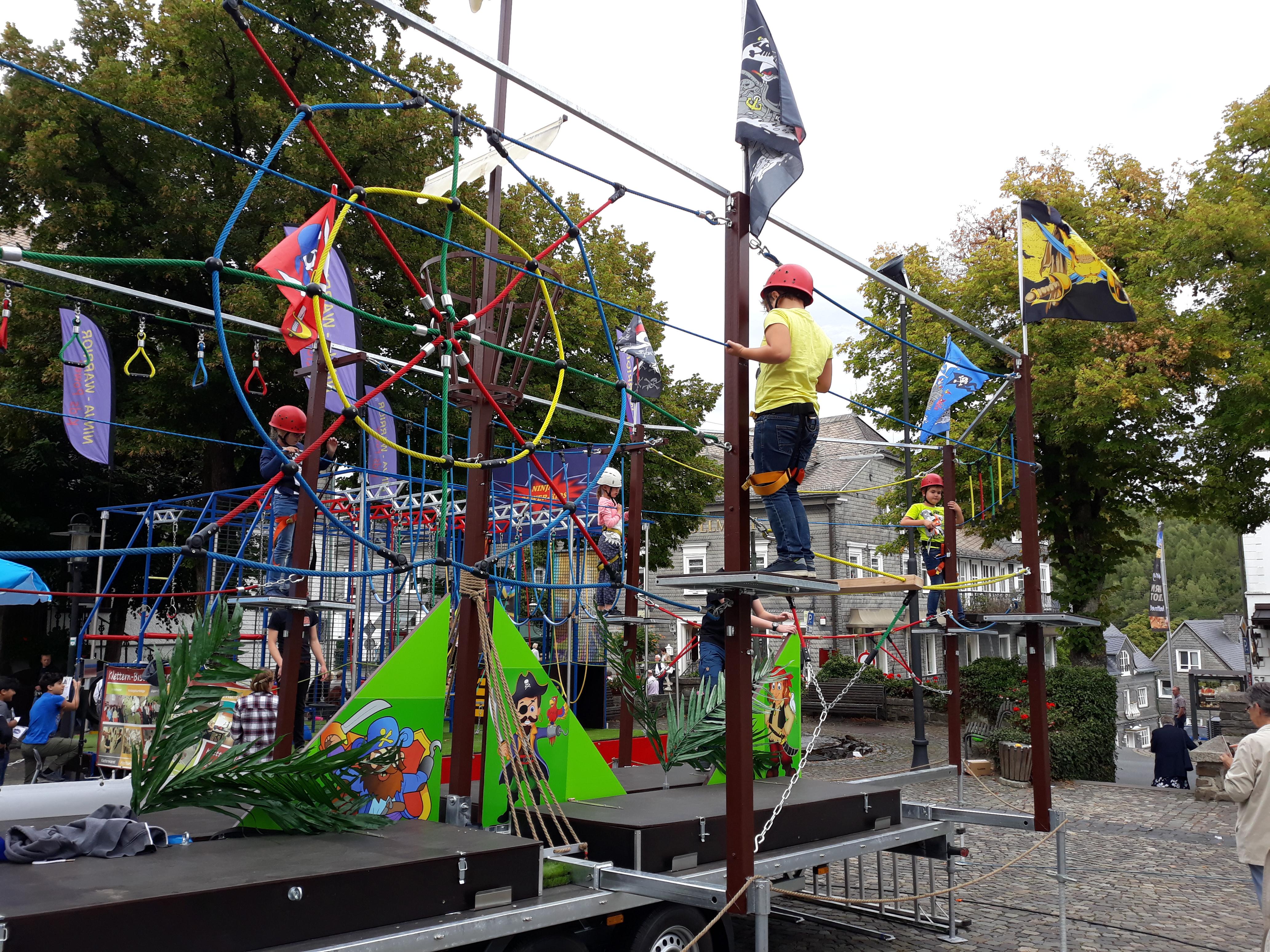 Kletter- / Hochseilgarten mobil kaufen