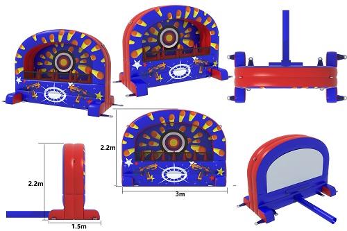 Bogenschießen für Kinder - 3x1,5 m