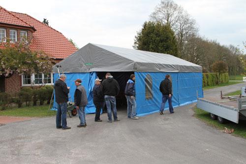 Party Zelt - 5x10 m - ohne Boden